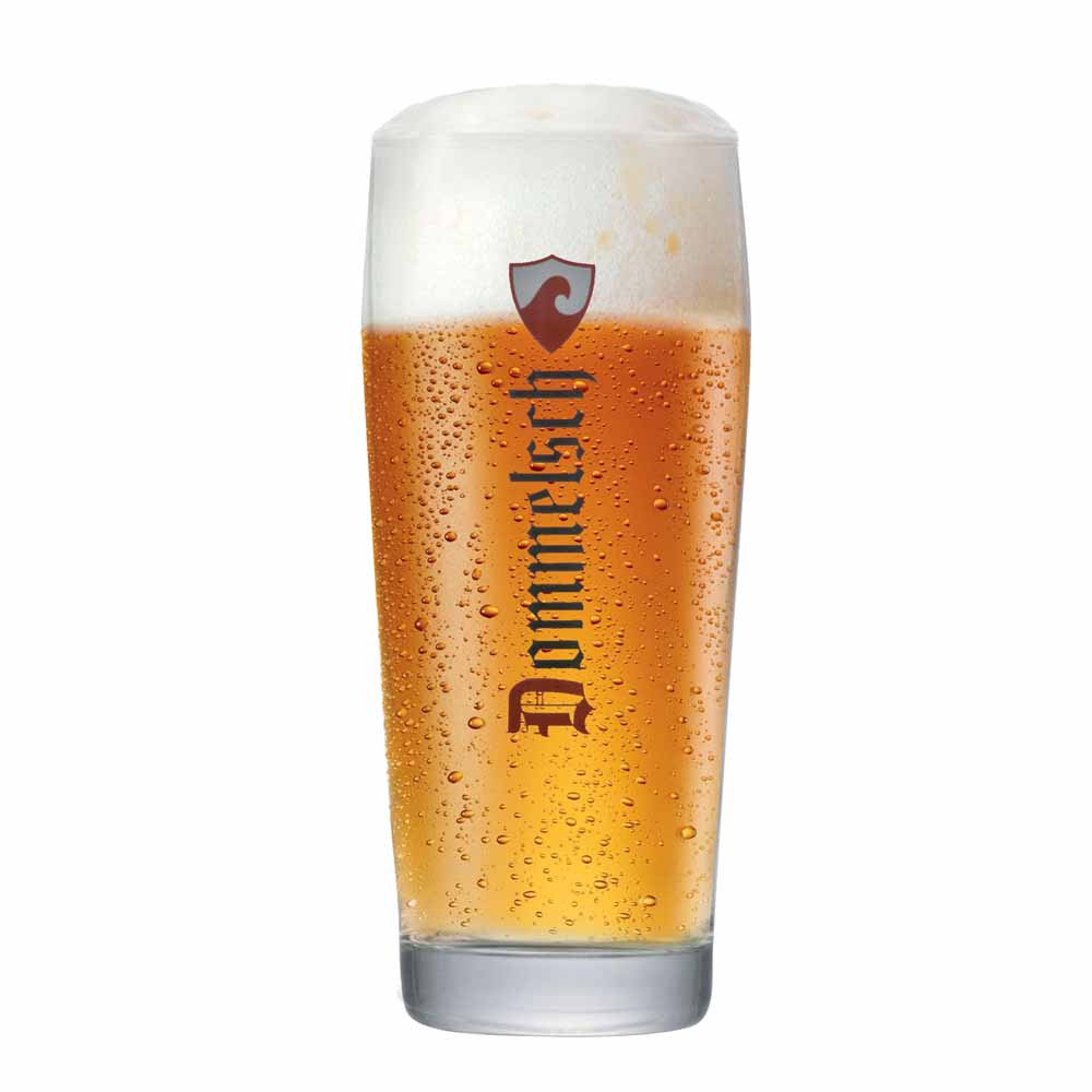 Copo de Cerveja Rótulo Frases Dommelsch Vidro 660ml