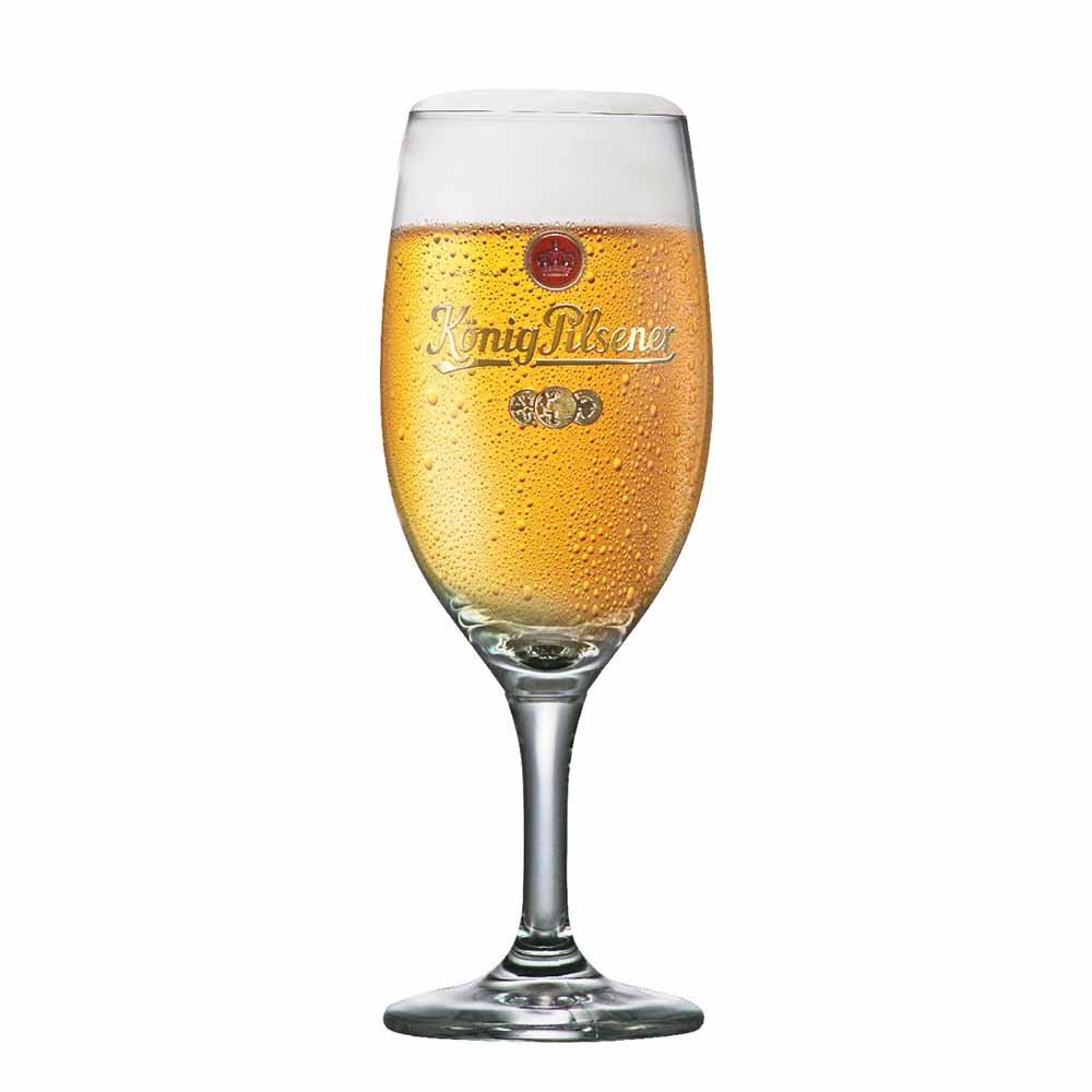 Taça de Cerveja Rótulo Frases Konig Exclusiv Cristal 395ml