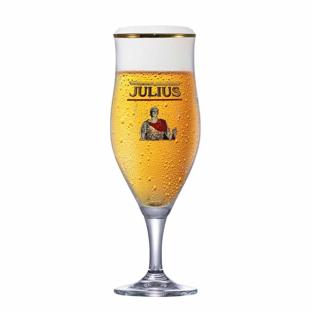 Taça de Cerveja Rótulo Frases Lubzer Pokal Cristal 540ml