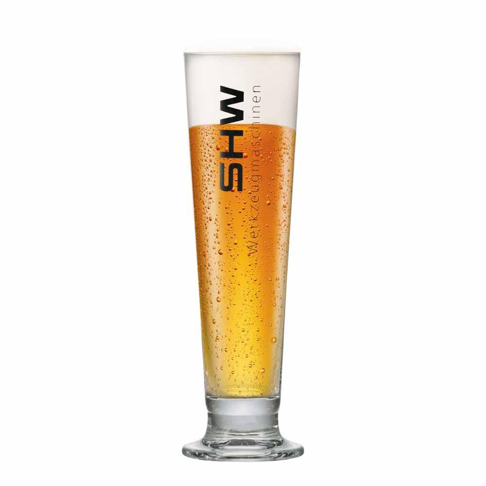Taça de Cerveja Rótulo Frases Shw Vidro 380ml