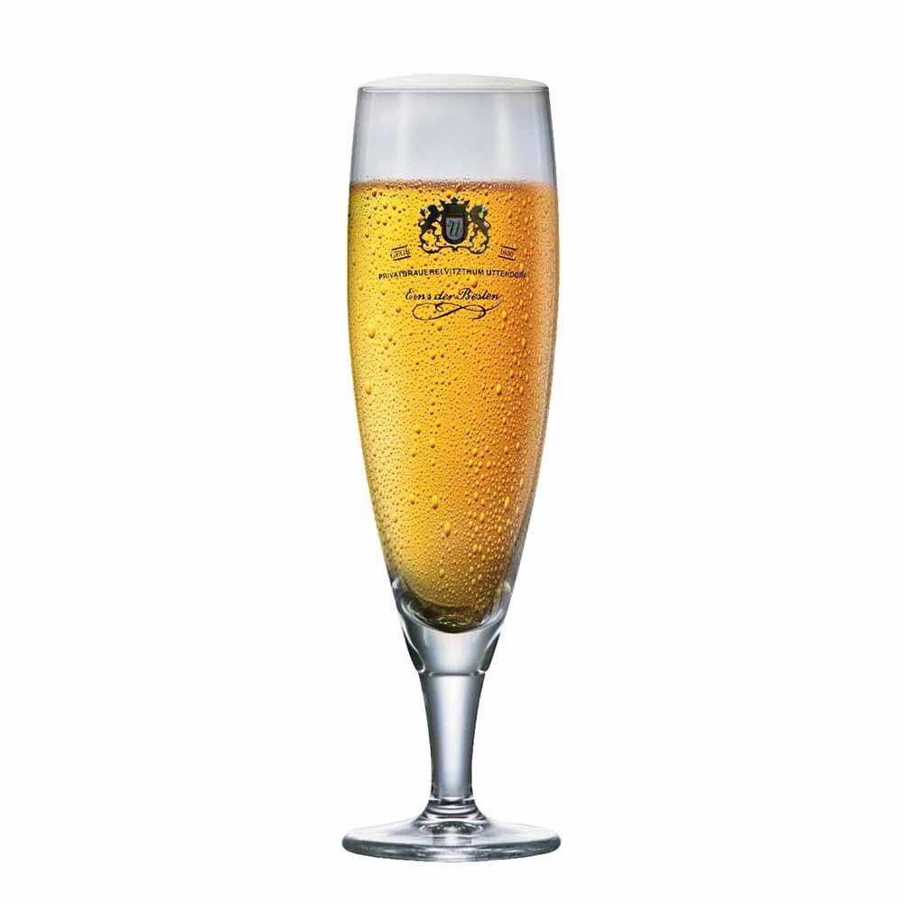 Taça de Cerveja Rótulo Frases Sokata Tulpe Cristal 390ml