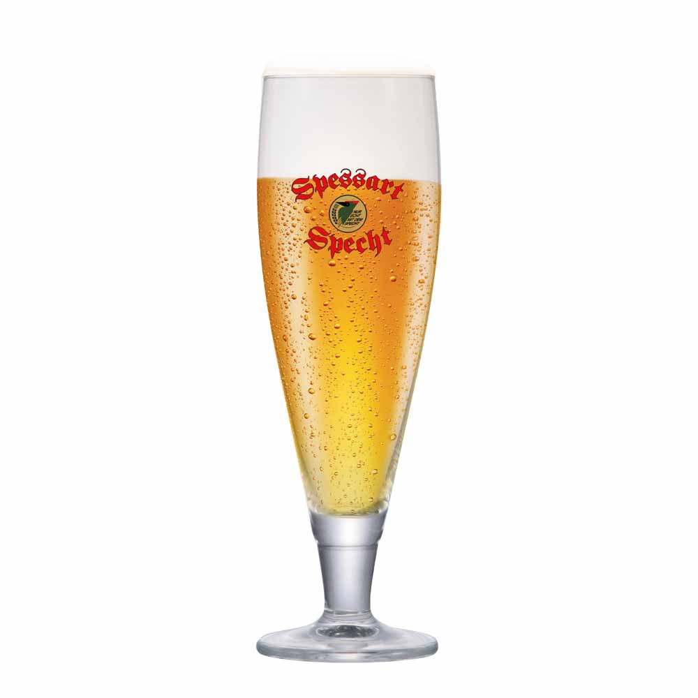 Taça de Cerveja Rótulo Frases Spessart Specht Cristal 530ml