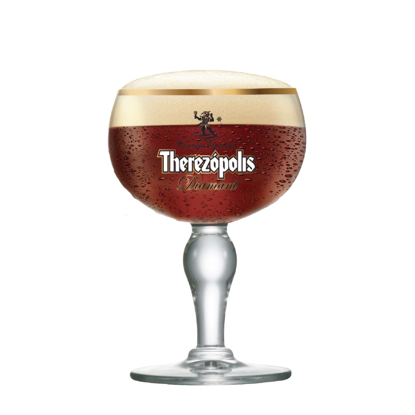 Taça de Cerveja Therezopolis Diamant Cristal 445ml