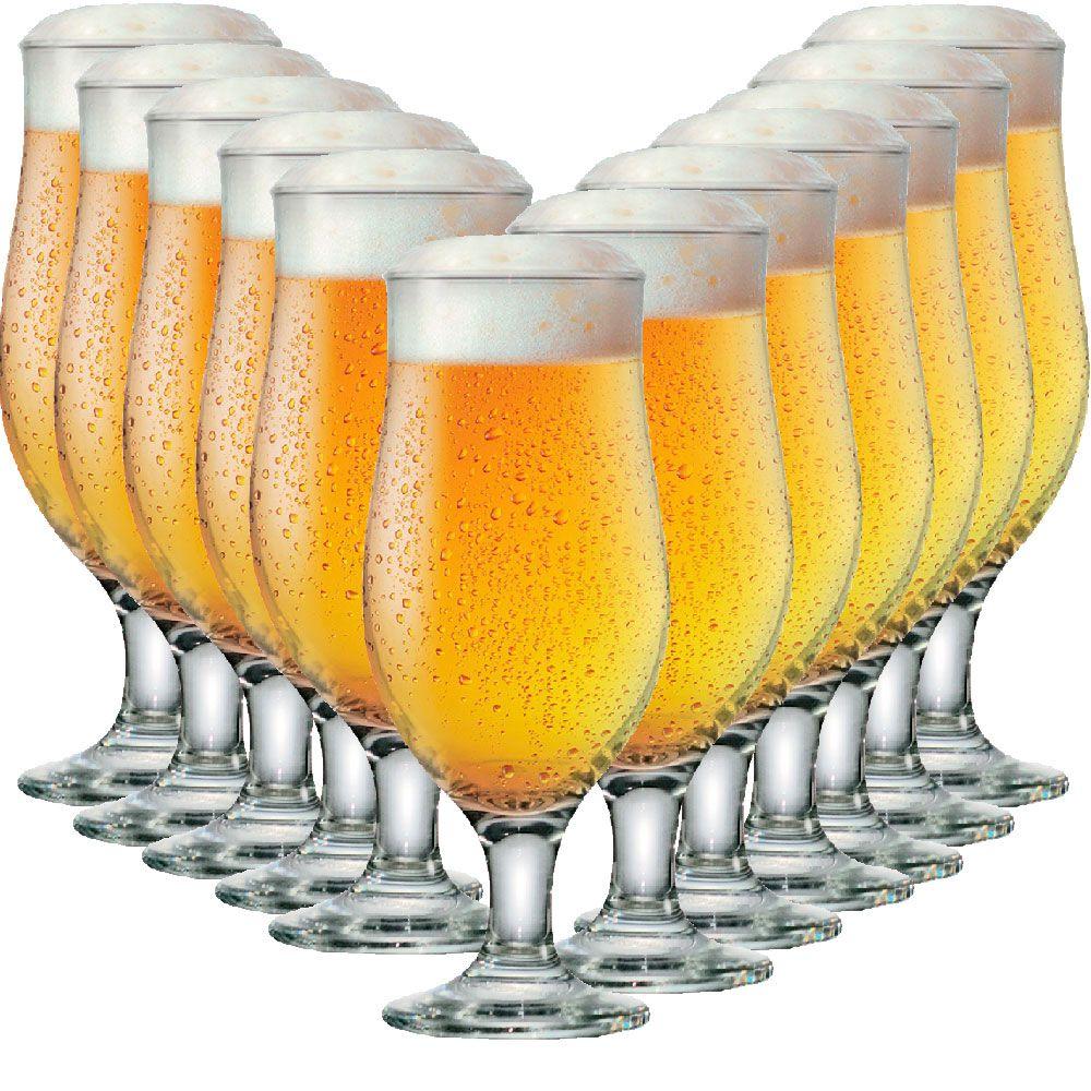 Taça de Cerveja Tulipa Royal Beer 330ml 24 pcs