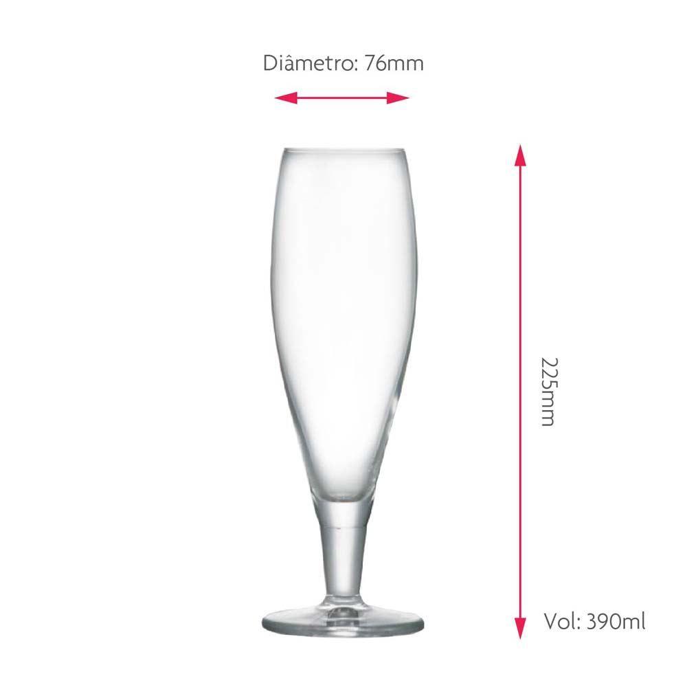 Taça de Cerveja Weltenburger Anno 1050 Cristal 390ml