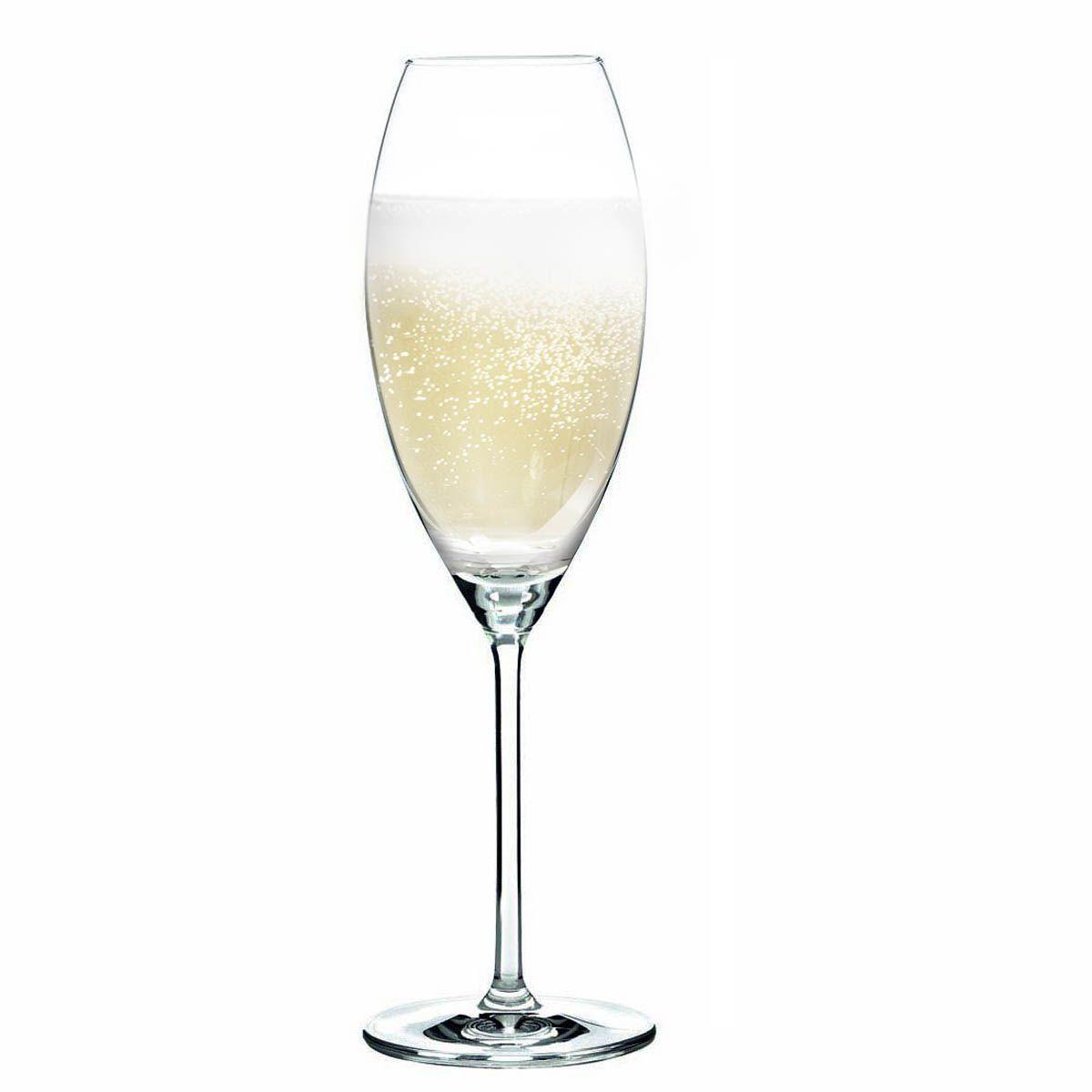 Taça de Champanhe Cristal Aspergo 325ml