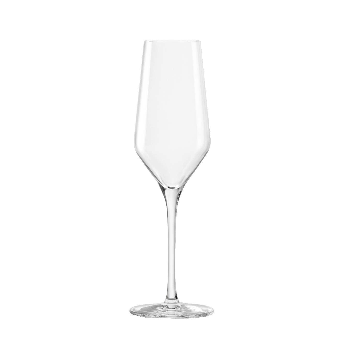 Taça de Champanhe de Cristal Passion Flute 240ml 6 Pcs