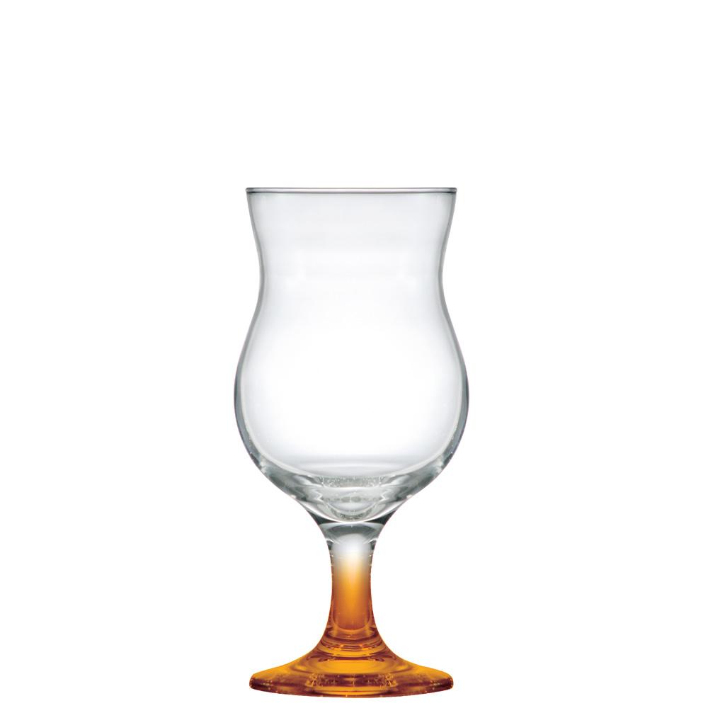 Taça de Cocktail Haste Laranja 400ml