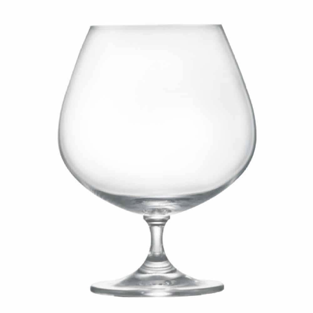 Taça de Conhaque de Cristal Snifter 760ml 2 Pcs