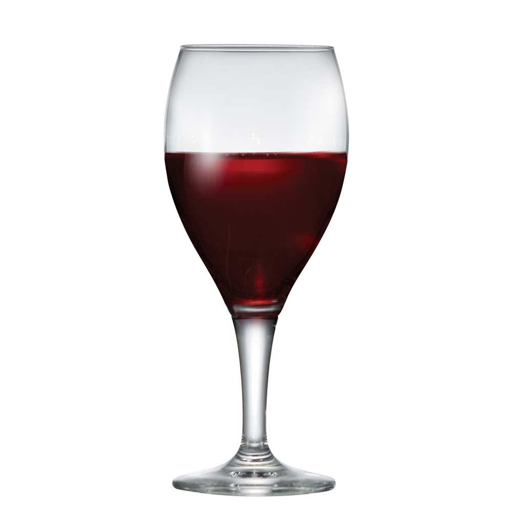 Taça de Vinho Tinto de Vidro Arcadia 370ml 6 Pcs