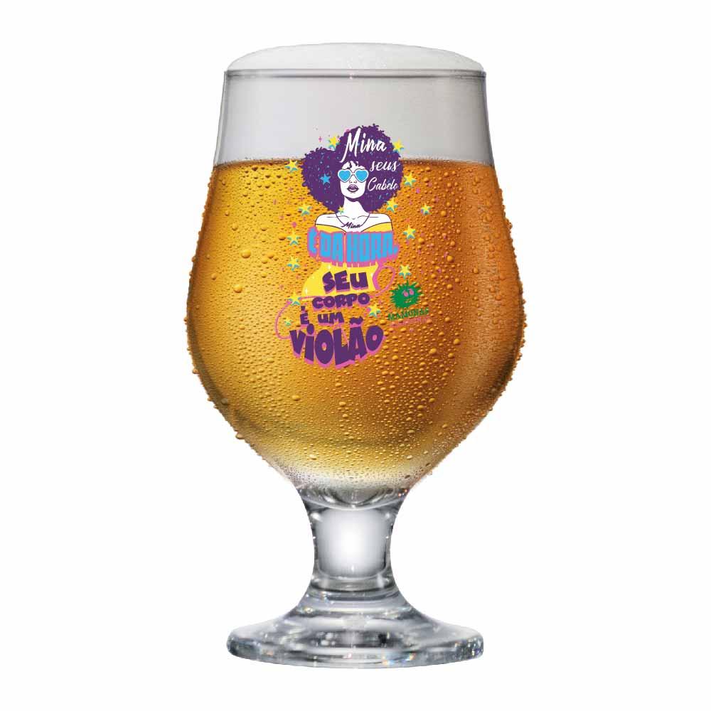 Taça de Vidro Beer Master Mamonas Assassinas SCV 380ml