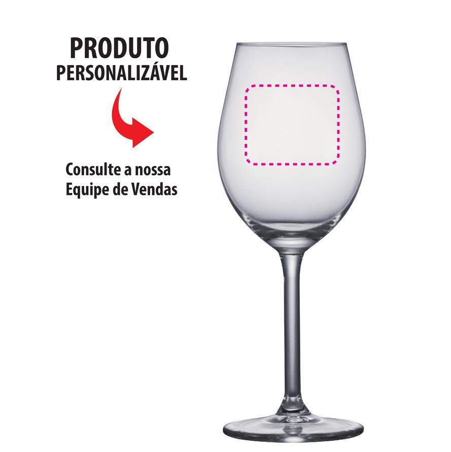 Taça de Vinho Vidro Esprit Du Vin White Wine 265ml 6ps