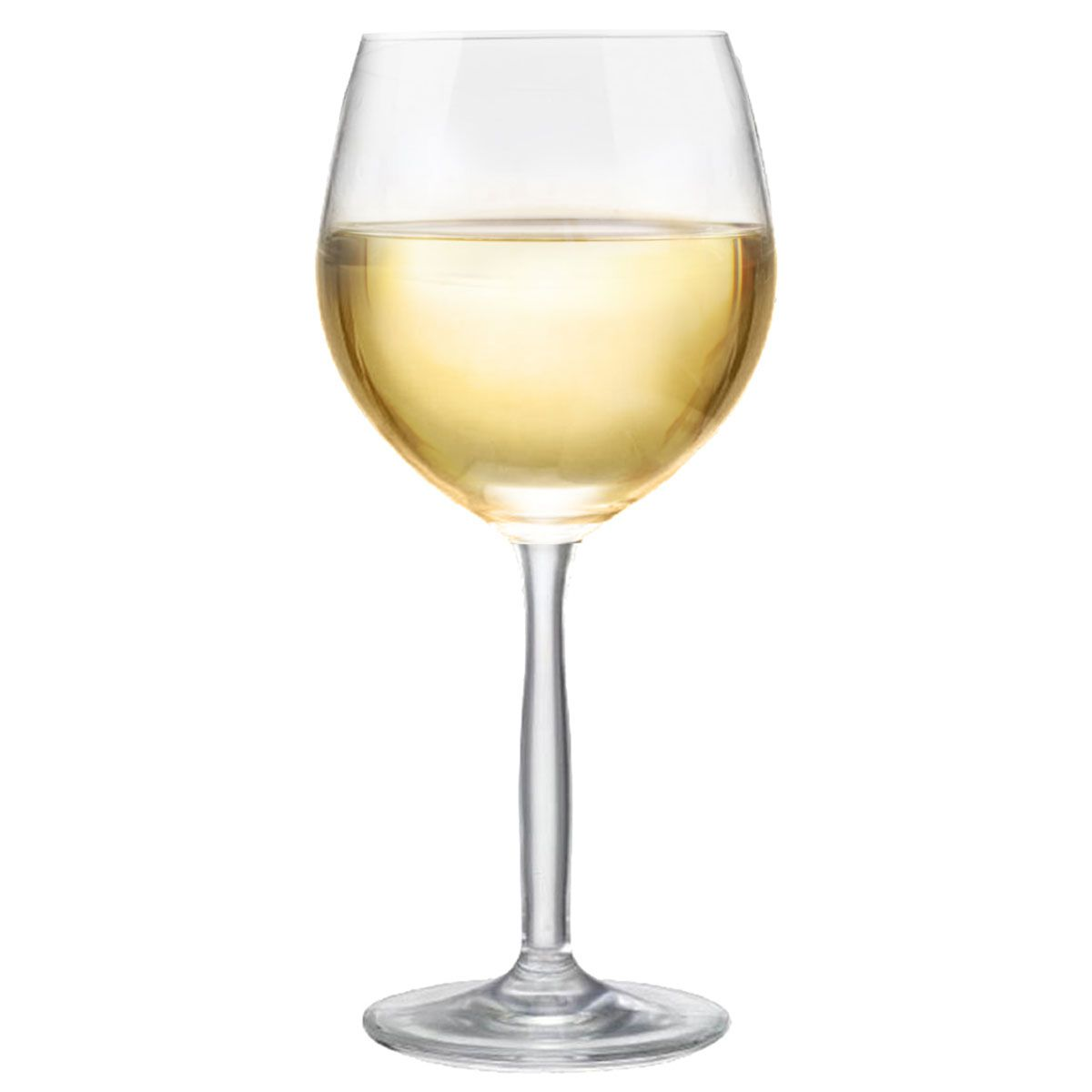Taça de Vinho Branco de Cristal Bordeaux Branco 380ml