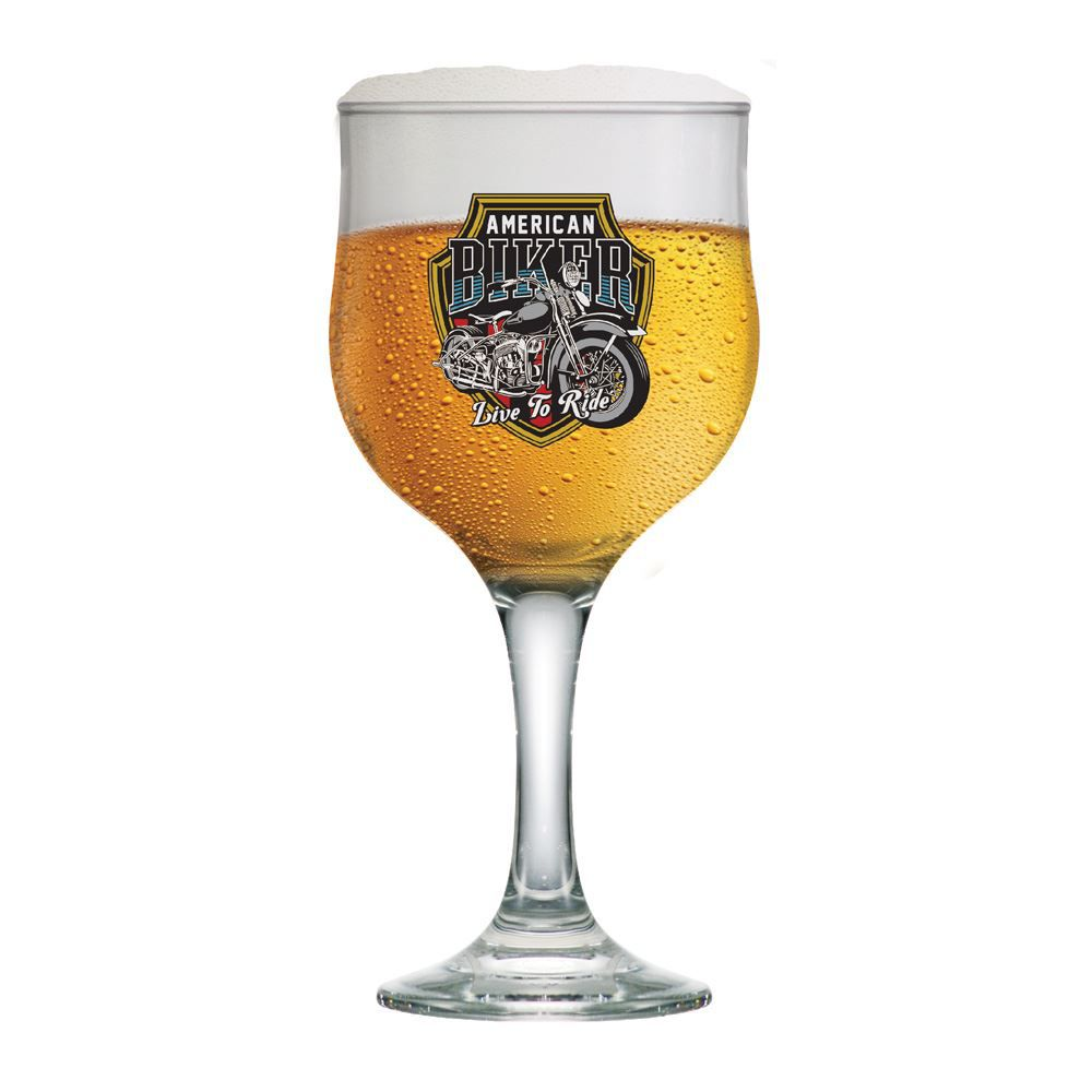 Taça de Cerveja Frases Legais Motors Biker Barcelona 300ml