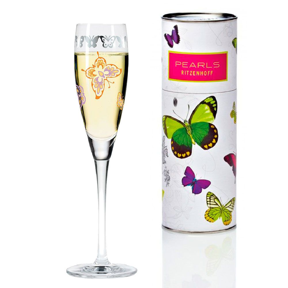 Taça de Vinho Ritzenhoff Cristal Prosecco Glass  Nilesh Mistry 2004 160ml