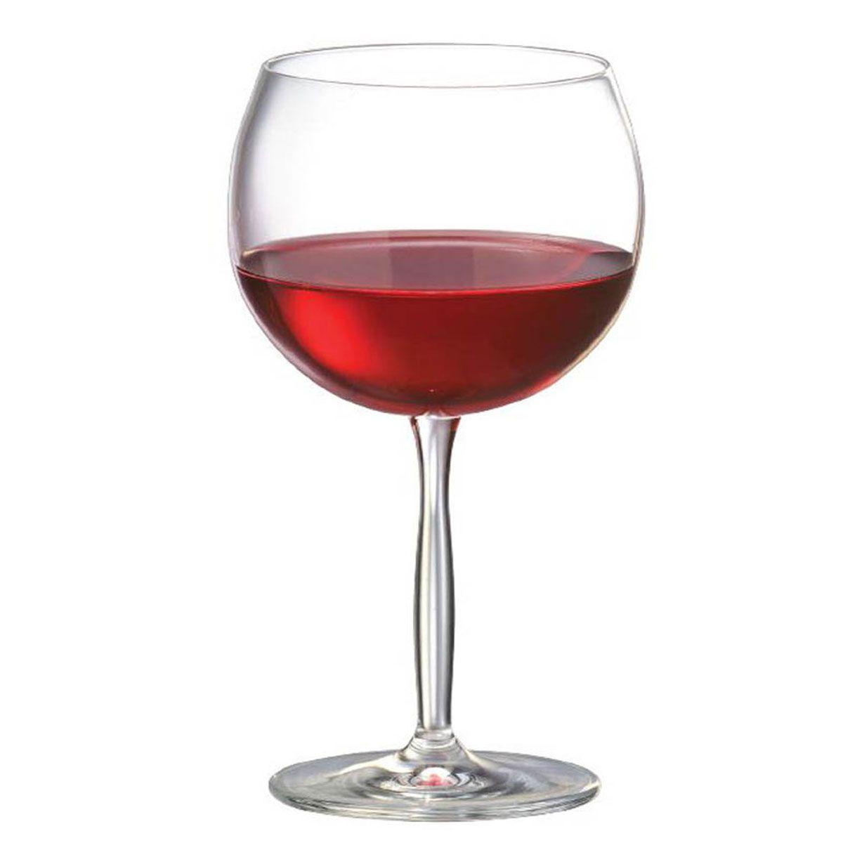 Taça de Vinho Tinto Bordeaux de Cristal 550ml
