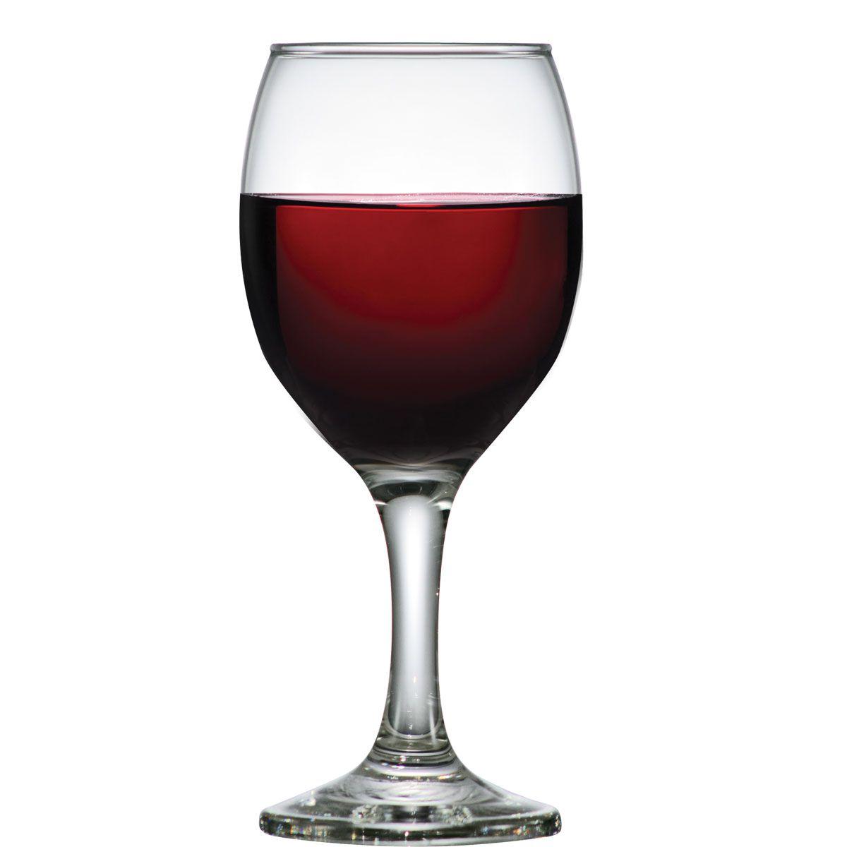 Taça de Vinho Tinto Vidro Roma 250ml
