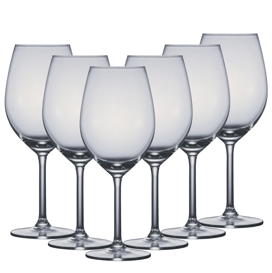 Taça de Vinho Vidro Esprit Du Vin Red Wine 420ml 6pcs