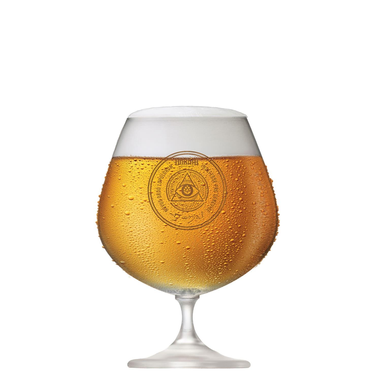 Taça de Cerveja de Cristal DOGMA 740ml