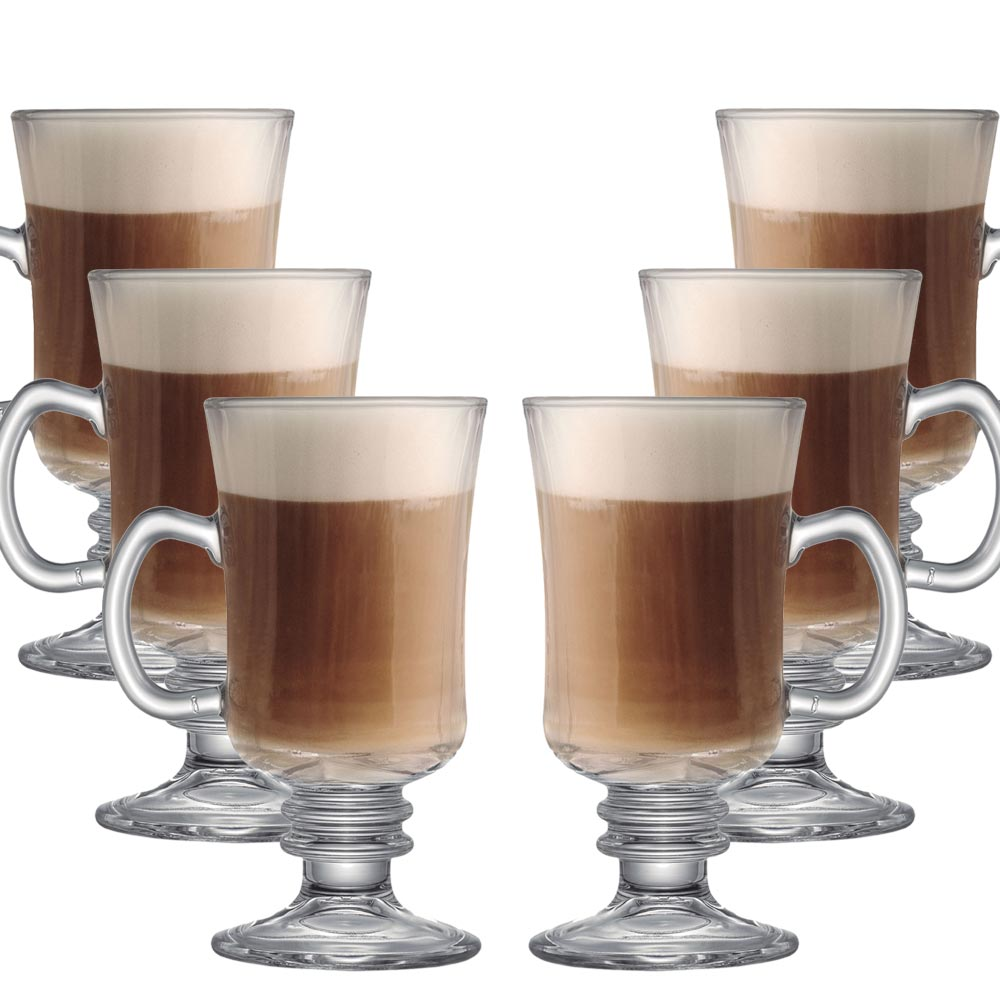 Taça Para Café Barista M 240ml 6 Pcs
