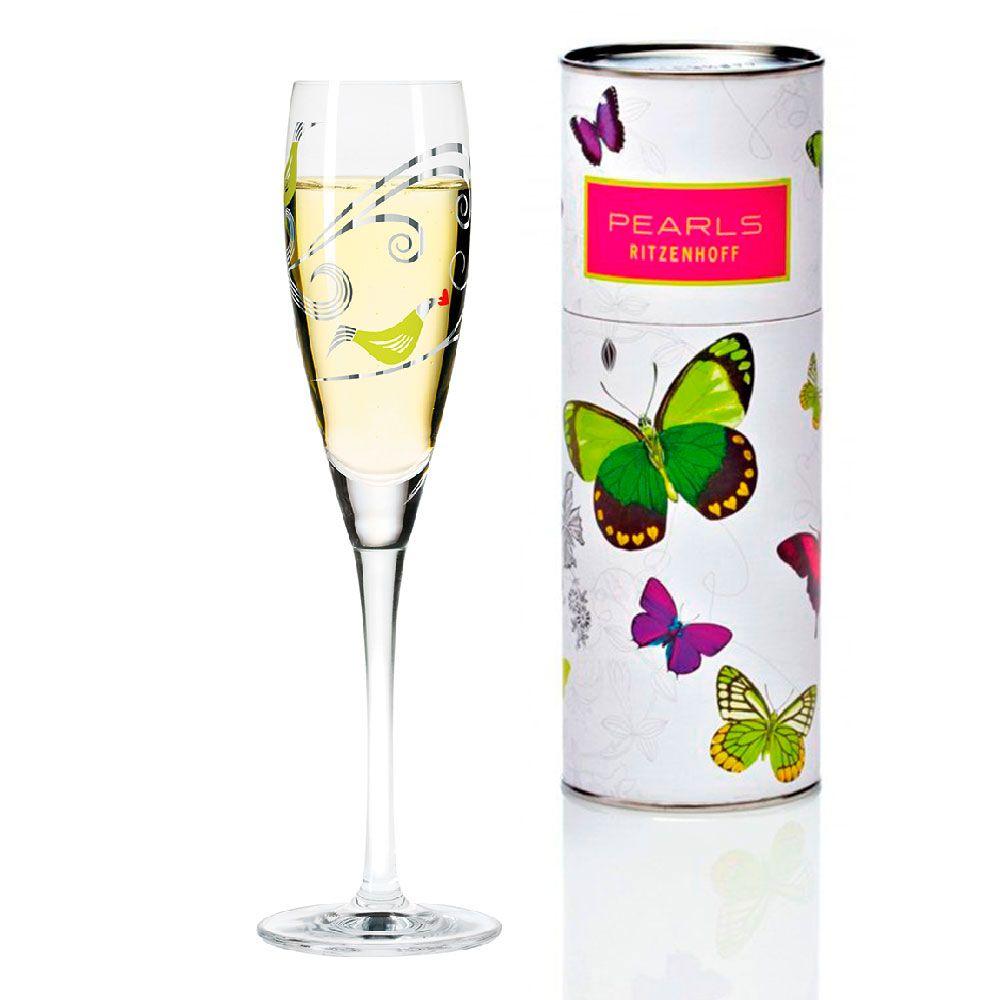 Taça para Prosecco Cristal Ritzenhoff Glass Christiane Beauregard 2012 160ml