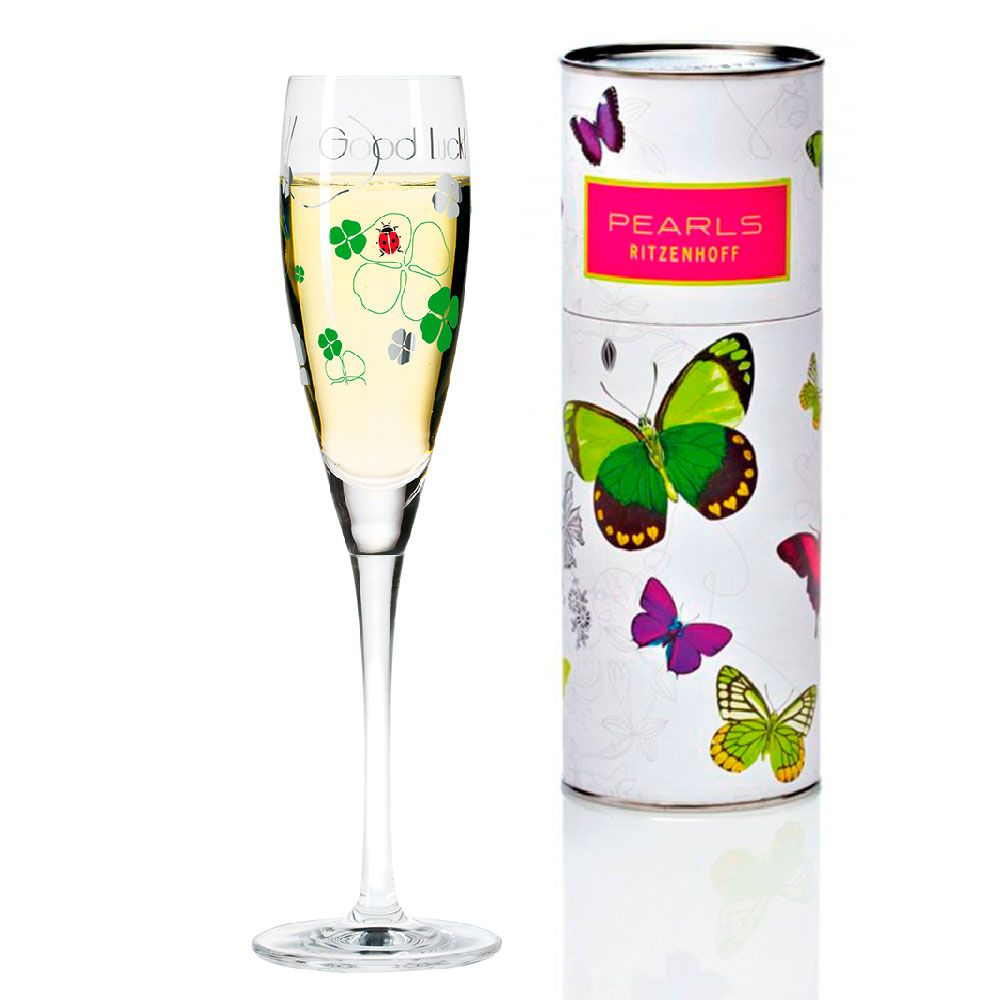 Taça para Prosecco Cristal Ritzenhoff Glass Iilario Rabbiosi 2012 160ml