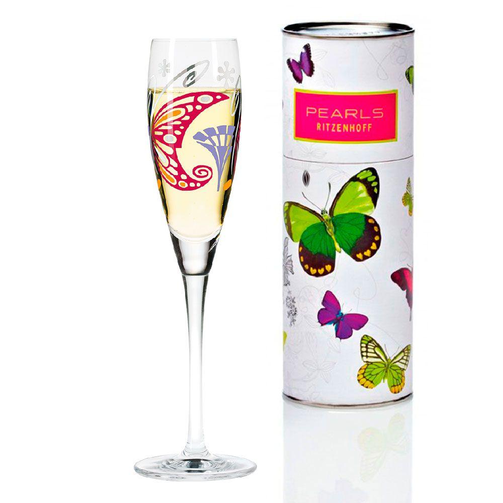 Taça para Prosecco Cristal Ritzenhoff Glass Laura Ferracioli 2008 160ml