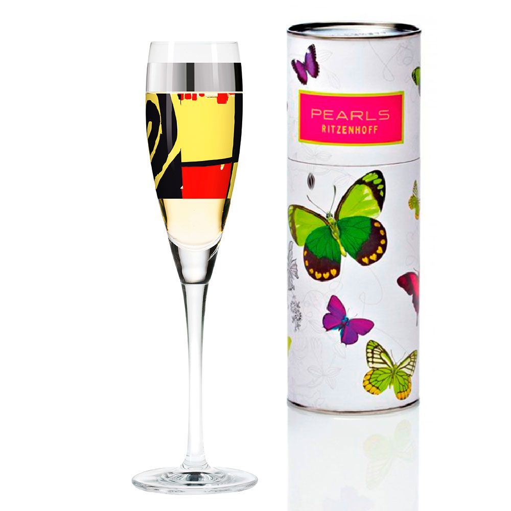 Taça para Prosecco Cristal Ritzenhoff Glass Selden 20Th Anniversary 160ml