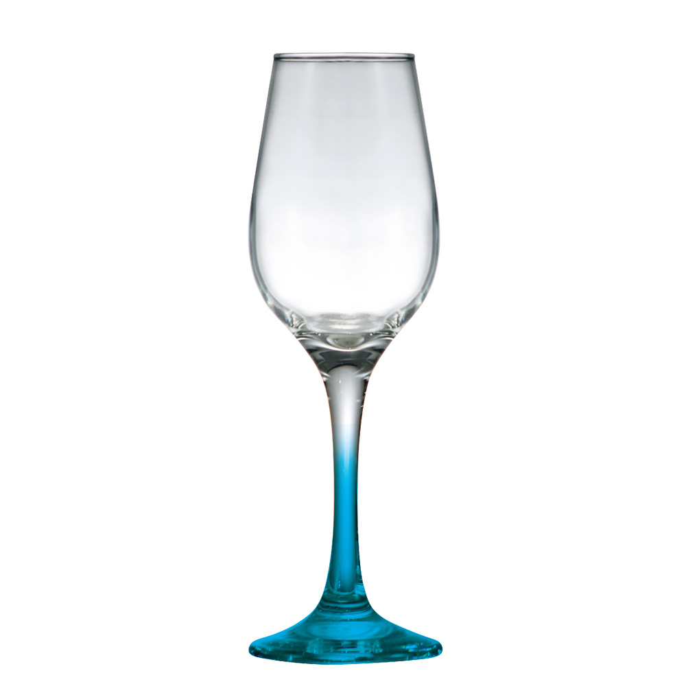 Taças Akron Champagne Haste Azul 2 peças 235ml