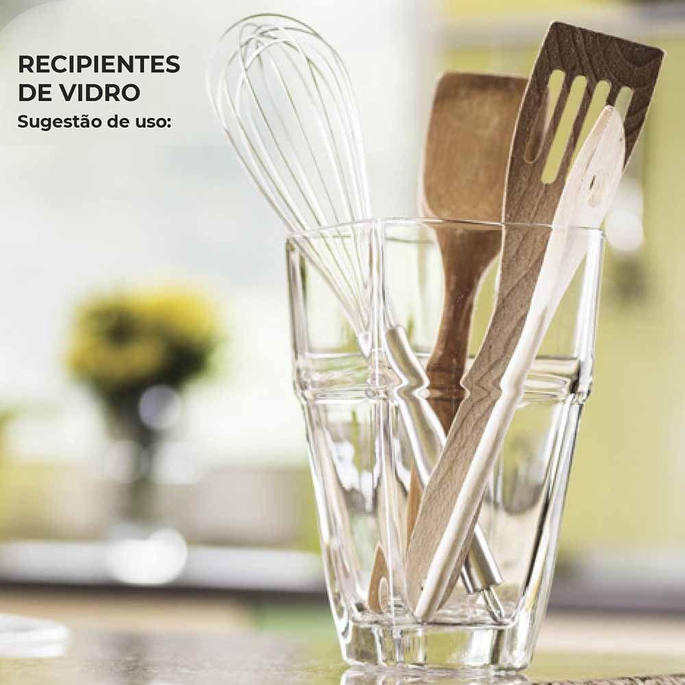 Vasos para Plantas Recipiente Isabela Vidro 1600ml Ruvolo
