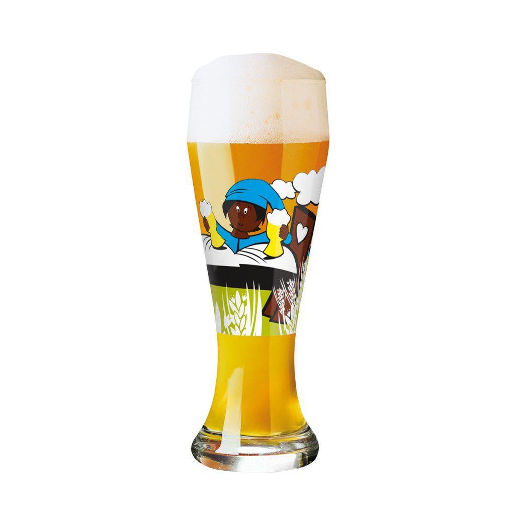 Taça de Cerveja Vidro Ritzenhoff Wheatbeer Formfindoung 2011 500ml