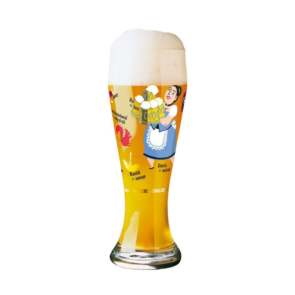 Copo Cerveja Ritzenhoff Wheatbeer Glass Nils Kunath 2006 500ml