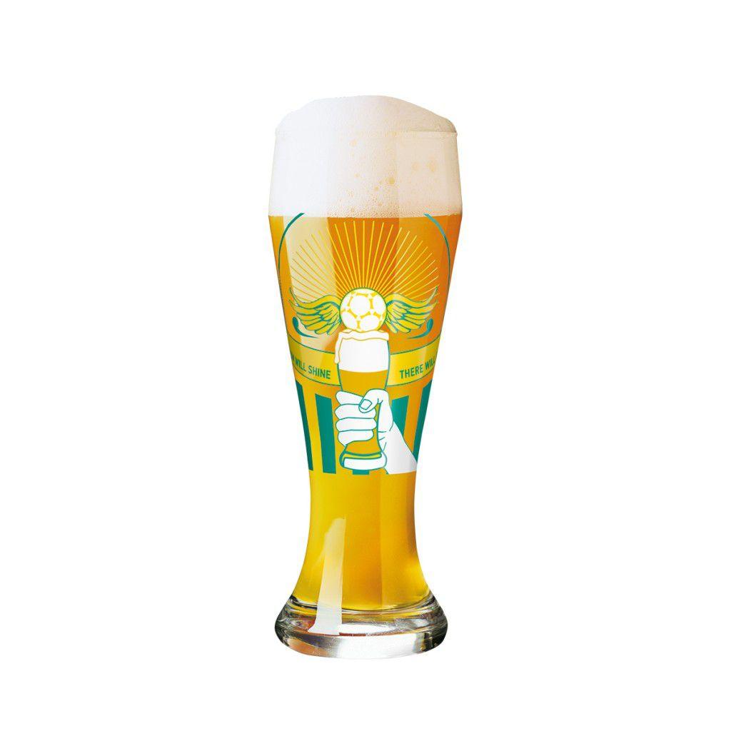 Taça de Cerveja Vidro  Ritzenhoff Wheatbeer Santiago Sevillano 2012 500ml