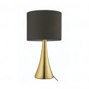 Abajur Casual Light Quality QAB1068-DO Turret 1L E27 Ø200x365mm Dourado/Preto