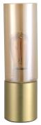 Abajur Quality QAB1325CH Spire 1L E27 Ø90x300mm Dourado/Champagne