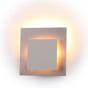 Arandela Bella CD011 Eclipse S 1L LED 2700k 200lm 4W Bivolt IP20 60x160Ømm Gold e Branco