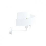Arandela Bella EY004-OUTLET Spiros 1L E27 Bivolt 31x25x34cm Branco