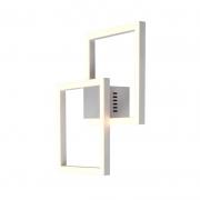 Arandela Bella GD010W Tec LED 45W 3000K 2450lm IP20 40x410x410mm - Branco