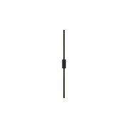 Arandela Bella GD011LB Tec LED 15W 3000K 980lm IP20 900mm - Preto