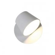 Arandela Bella ML006W Meera 1L LED 6W Bivolt IP20 120x120x120mm Branco