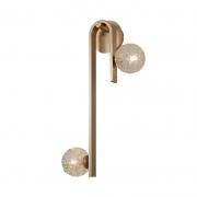 Arandela Casual Light Quality AR1409 Laticius 2L G9 10W 660x300x200mm Dourado