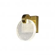 Arandela Casual Light Quality AR1476 Maya LED 3000K 3W Bivolt 150x110x180mm Dourado