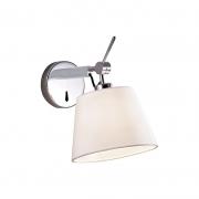 Arandela Casual Light Quality AR978 Drain 1L E27 40W  Bivolt 270x280x200mm Branco