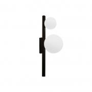 Arandela Casual Light Quality ARH1535PT Orbit  2L G9 10W 160X120X400mm Preto Total
