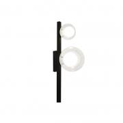 Arandela Casual Light Quality ARH1535TRPT Orbit  2L G9 10W 160X120X400mm Preto