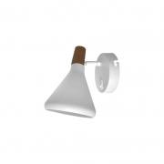 Arandela Casual Light Quality QAR1466ABR Horn 1L G9  40W 210x410x320mm Branco
