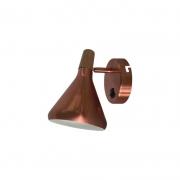 Arandela Casual Light Quality QAR1466ACO Horn 1L G9  40W 210x410x320mm Cobre