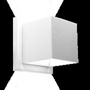 Arandela Incolustre 500.20 Effet02 2 Fachos 1L G9 110x110x90mm Branco