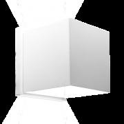 Arandela Incolustre 500.40 Effet04 2 Fachos 1L G9 110x110x90mm Branco