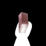 Arandela Incolustre 503.10  Vertical/1 1 Facho 1L Dicróica  75x75x200mm Branco Texturizado